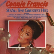 Connie Francis: 20 All Time Greats - LP