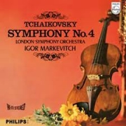 Tchaikovski Symphony No. 4 by Igor Markevitch London Symphony Orchestra (180 Gram) - LP